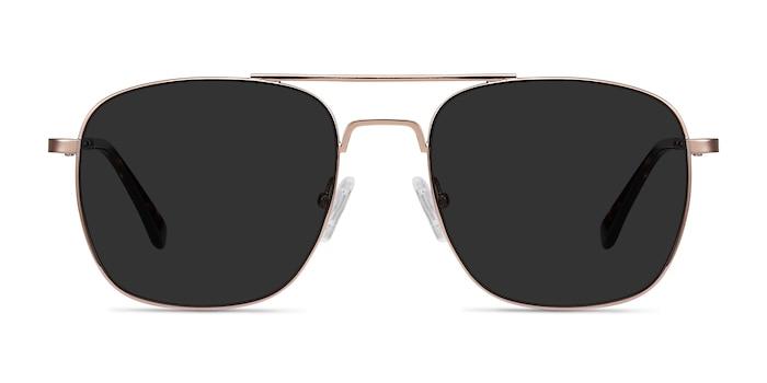 Sun Fame Rose Gold Metal Sunglass Frames from EyeBuyDirect
