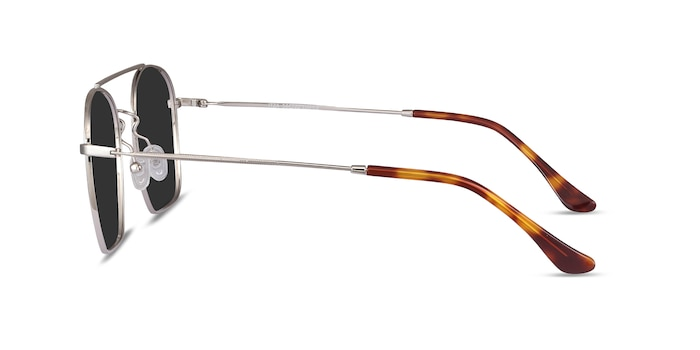 Itza Silver Metal Sunglass Frames from EyeBuyDirect