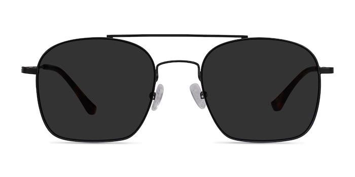 Itza Black Metal Sunglass Frames from EyeBuyDirect