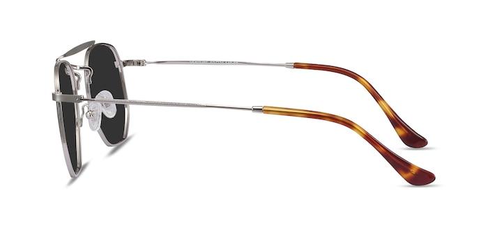 Venture Silver Metal Sunglass Frames from EyeBuyDirect