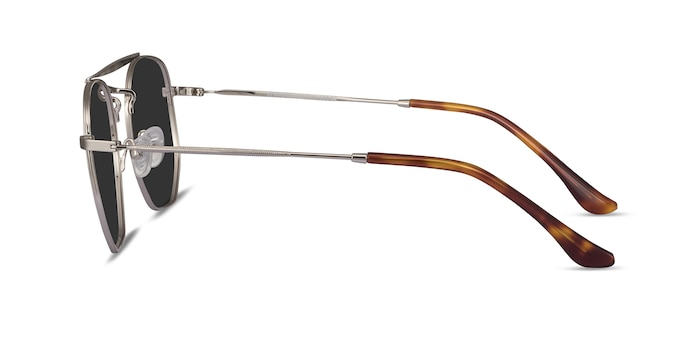 Venture Silver Metal Sunglass Frames from EyeBuyDirect