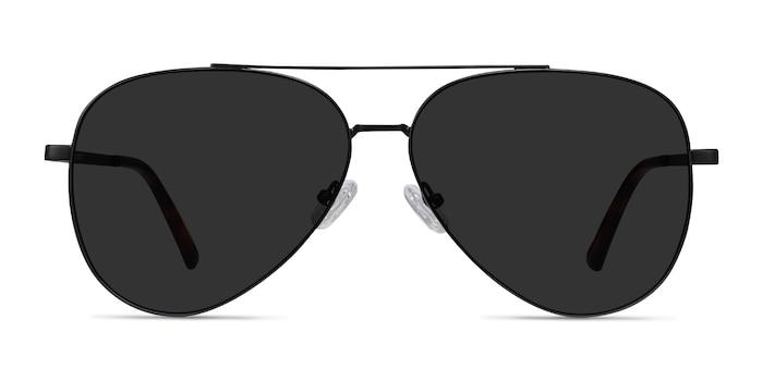 Flier Black Metal Sunglass Frames from EyeBuyDirect