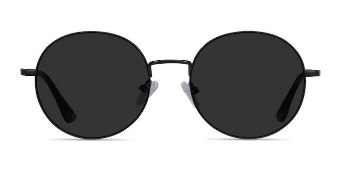 Solbada Black Metal Sunglass Frames from EyeBuyDirect