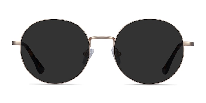 Solbada Gold Metal Sunglass Frames from EyeBuyDirect