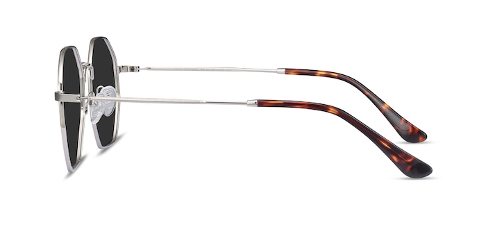 Sun Octave Silver Metal Sunglass Frames from EyeBuyDirect