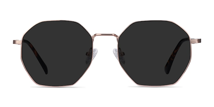 Sun Octave Rose Gold Metal Sunglass Frames from EyeBuyDirect