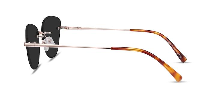 Linger Rose Gold Metal Sunglass Frames from EyeBuyDirect
