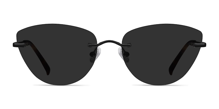 Linger Black Metal Sunglass Frames from EyeBuyDirect