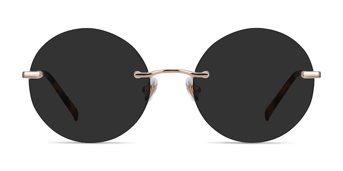 Chorus Rose Gold Metal Sunglass Frames from EyeBuyDirect