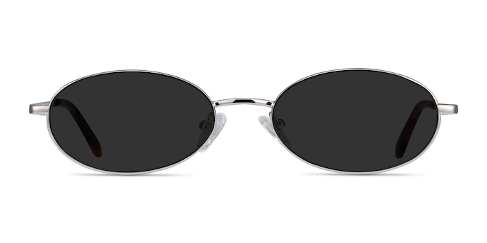 Graham Silver Metal Sunglass Frames from EyeBuyDirect