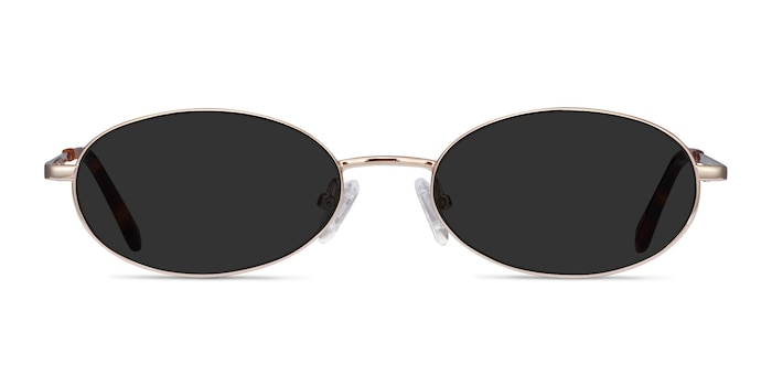 Graham Gold Metal Sunglass Frames from EyeBuyDirect
