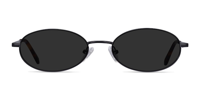 Graham Black Metal Sunglass Frames from EyeBuyDirect