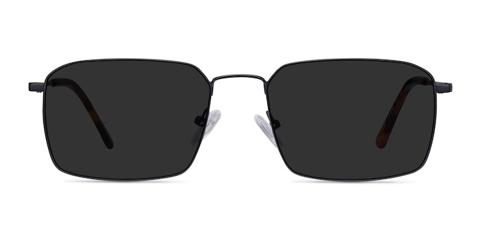 Edge Black Metal Sunglass Frames from EyeBuyDirect