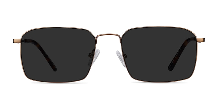 Edge Bronze Metal Sunglass Frames from EyeBuyDirect