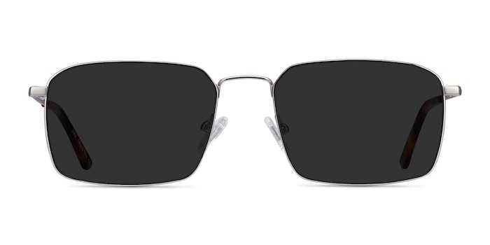 Edge Silver Metal Sunglass Frames from EyeBuyDirect