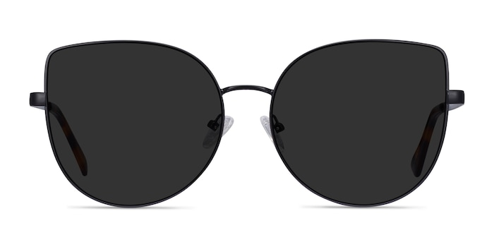 Bless Black Metal Sunglass Frames from EyeBuyDirect