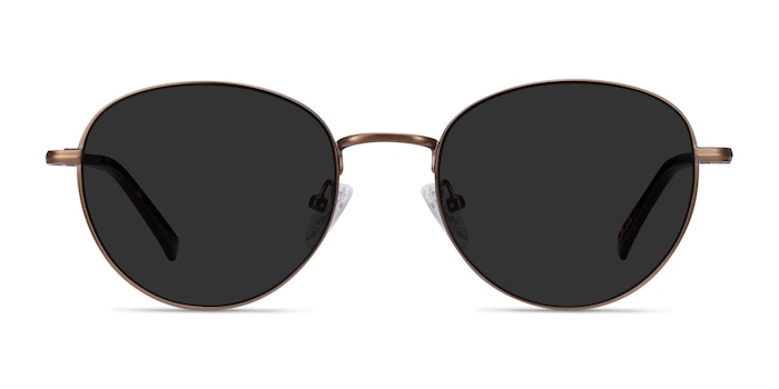 Span Bronze Acetate-metal Sunglass Frames from EyeBuyDirect