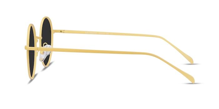 Sun Synapse Yellow Metal Sunglass Frames from EyeBuyDirect
