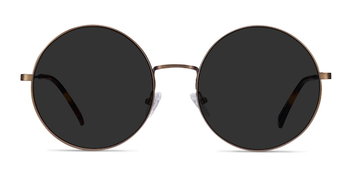 Teavee Bronze Metal Sunglass Frames from EyeBuyDirect