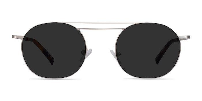 Lito Silver Metal Sunglass Frames from EyeBuyDirect
