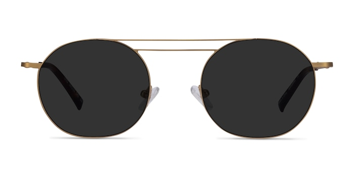 Lito Bronze Metal Sunglass Frames from EyeBuyDirect