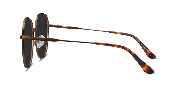 Ellis Bronze Metal Sunglass Frames from EyeBuyDirect