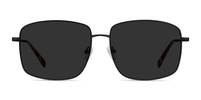 Ryker Black Metal Sunglass Frames from EyeBuyDirect
