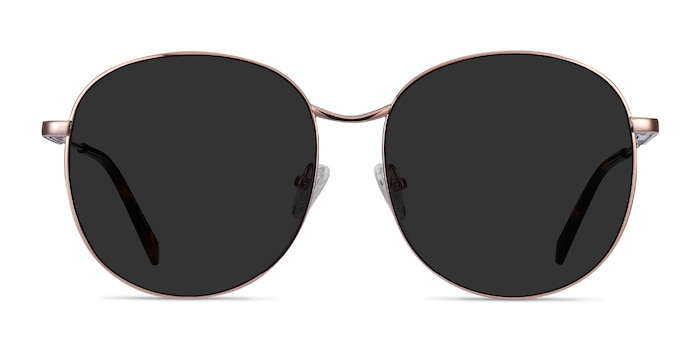 Sage Rose Gold Metal Sunglass Frames from EyeBuyDirect