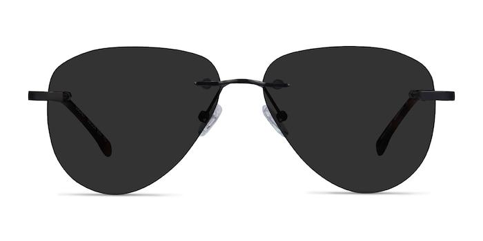 Locket Black Metal Sunglass Frames from EyeBuyDirect