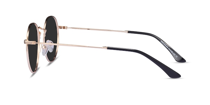 Disclosure Gold Metal Sunglass Frames from EyeBuyDirect