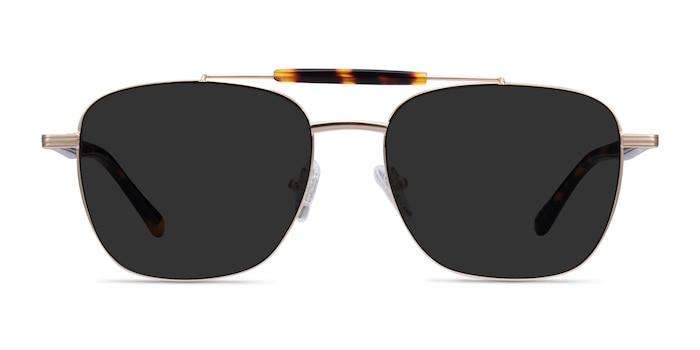 Jackson Gold Tortoise Acetate Sunglass Frames from EyeBuyDirect