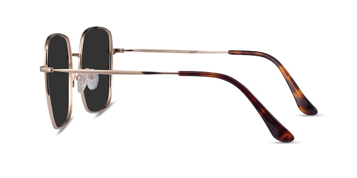 Sunday Gold Metal Sunglass Frames from EyeBuyDirect