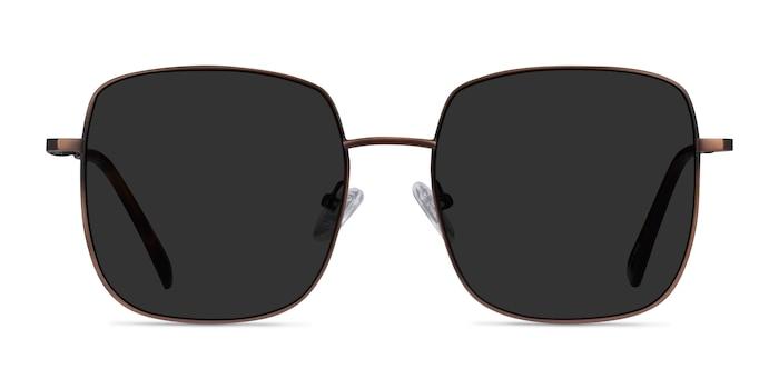 Sunday Bronze Metal Sunglass Frames from EyeBuyDirect