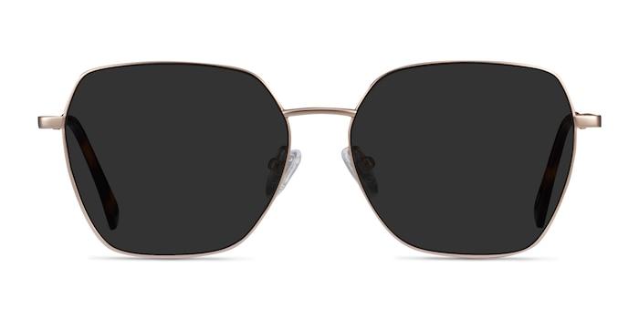Ginza Gold Metal Sunglass Frames from EyeBuyDirect