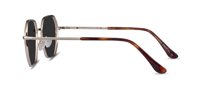 Lenox Gold Metal Sunglass Frames from EyeBuyDirect