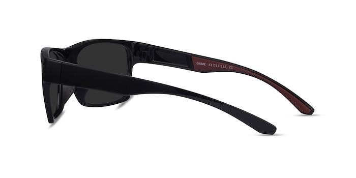 Game Black Plastic Sunglass Frames from EyeBuyDirect