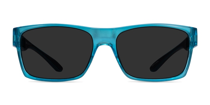 Game Blue Plastic Sunglass Frames from EyeBuyDirect