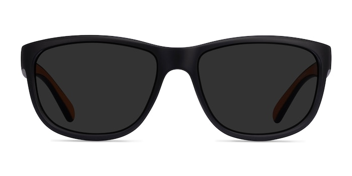 Determined Black Plastic Sunglass Frames from EyeBuyDirect