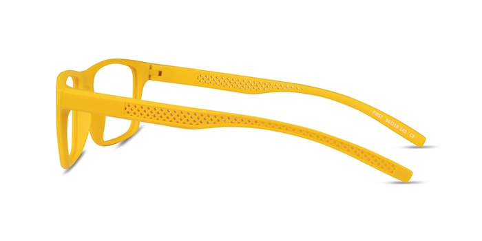 First Yellow Plastic Eyeglass Frames from EyeBuyDirect