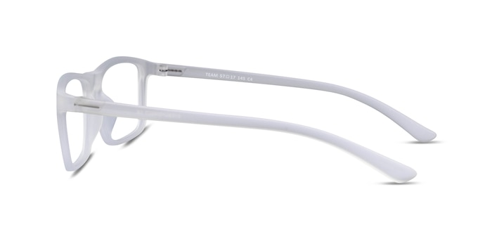 Team Matte Clear Acetate Eyeglass Frames from EyeBuyDirect