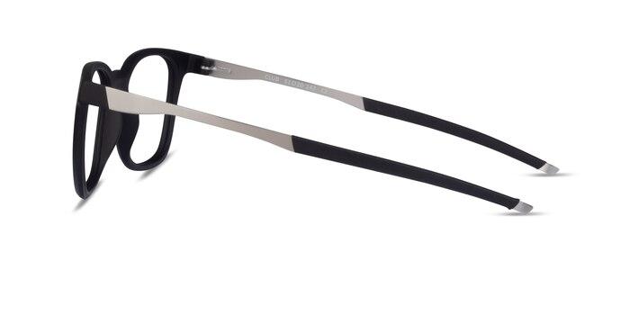 Club Black Plastic Eyeglass Frames from EyeBuyDirect