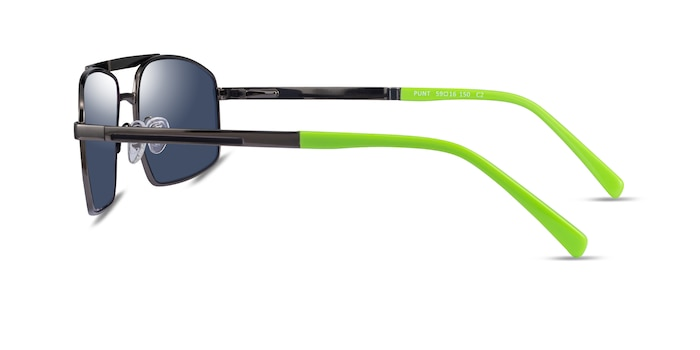 Punt Gunmatel Green Acetate Sunglass Frames from EyeBuyDirect