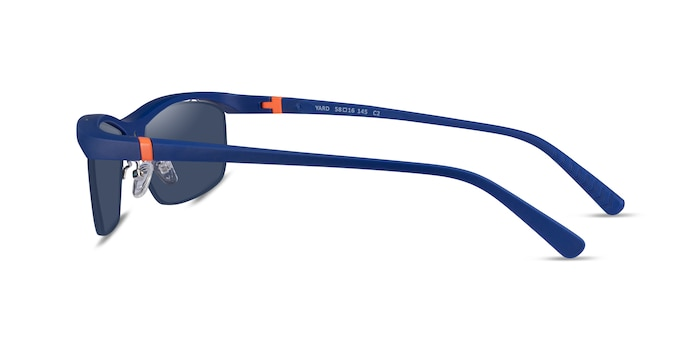 Yard Matte Navy Plastic Sunglass Frames from EyeBuyDirect