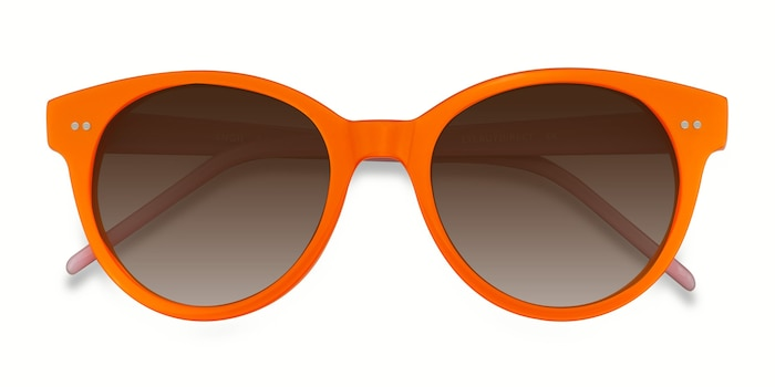 Orange Angie -  Acetate Sunglasses