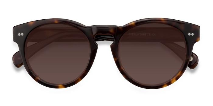 Brown/Tortoise Penelope -  Vintage Acetate Sunglasses