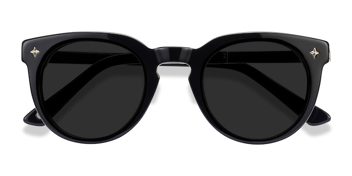 Navy Zoe -  Acetate Sunglasses
