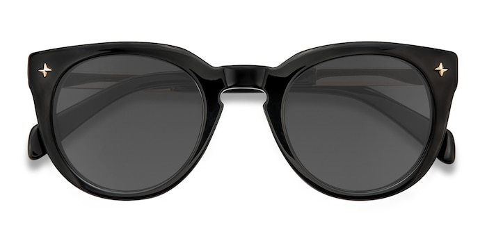 Black Zoe -  Acetate Sunglasses