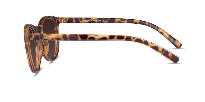 Deja Vu Brown/Tortoise Plastic Sunglass Frames from EyeBuyDirect
