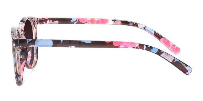 Deja Vu Blue/Floral Plastic Sunglass Frames from EyeBuyDirect