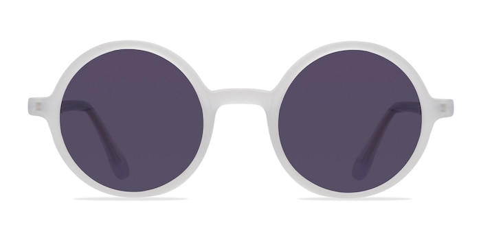 Alena Matte Clear Acetate Sunglass Frames from EyeBuyDirect
